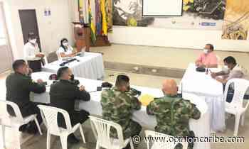 En Aracataca, Alcaldía coordina consejo de seguridad - Opinion Caribe