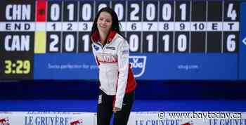 Canada's Einarson beats China 6-4, qualifies for playoffs at world curling playdowns