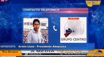 Armin Lluta: Gobierno quiere Adepcoca para controlar a los Yungas - Los Tiempos
