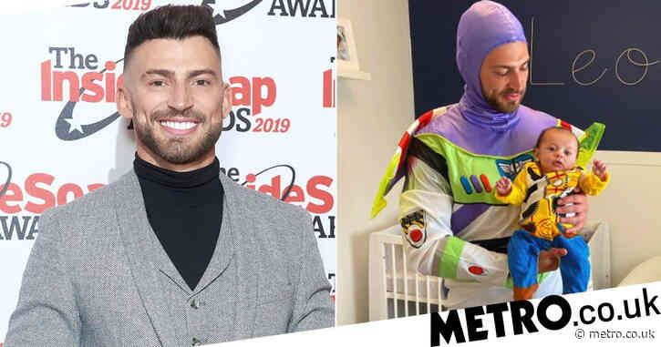 Jake Quickenden proudly dresses son Leo as Woody from Toy Story after blasting vile trolls: 'I will love you to infinity and beyond'