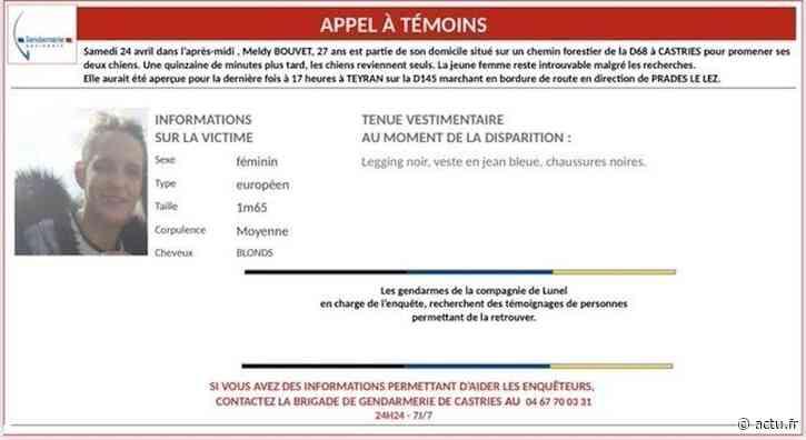 Près de Montpellier. Castries-Teyran : la disparue retrouvée saine et sauve - actu.fr