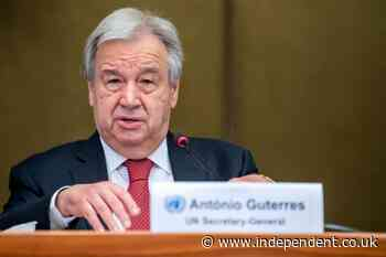 Antonio Guterres lays out vision for second term as UN chief
