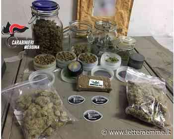 Piraino, trovato con 200 grammi di hashish e marijuana, domiciliari per un trentunenne - Lettera Emme