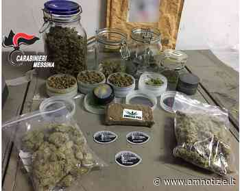 Piraino - 400 grammi di droga tra hashish e marijuana, arrestato SN, 31enne di Ficarra - AMnotizie.it
