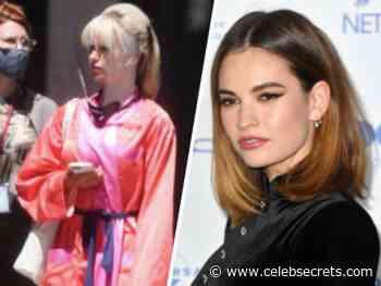 "Lily James Styles Blonde Locks As Pamela Anderson In Upcoming Hulu Series ""Pam & Tommy"" - Celeb Secrets"