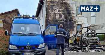 Caportbrand in Beelitz: Kriminaltechniker nehmen Ermittlungen auf - Märkische Allgemeine Zeitung