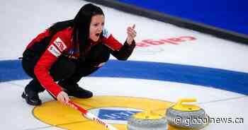 Team Canada's Einarson squeaks into playoff round at world curling championship