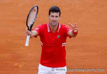 """""""Wearing This Summer"""": Novak Djokovic Unveils His Special Edition Shoes For French Open 2021 - EssentiallySports"""