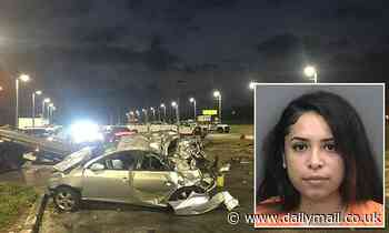 Woman, 24, arrested after deadly police chase has history of alcohol abuse and trauma