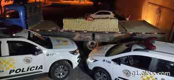 Carga de maconha é apreendida em caminhão abordado na Rodovia Assis Chateaubriand em Martinópolis - G1