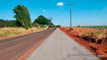 Prefeitura constrói ciclofaixa com acesso até o Ecolago entre Assis e Lutécia - Assiscity