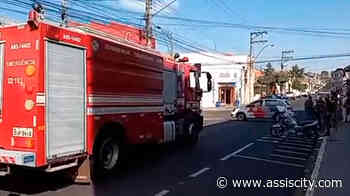 Explosão com princípio de incêndio deixa vítima leve em comércio de Assis - Assiscity