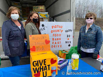 Overwhelming support for inaugural Nick's Food Drive - pictouadvocate.com