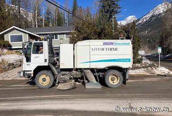 Street sweeping program in final stretch   Elk Valley, Fernie - E-Know.ca