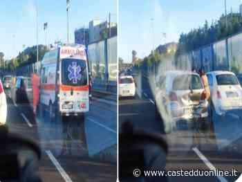 Cagliari, maxi tamponamento sull'asse mediano: un ferito. Traffico bloccato per oltre un'ora - Casteddu Online