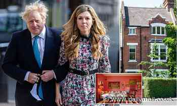 Boris Johnson and Carrie Symonds rent out their £1.2million south London townhouse