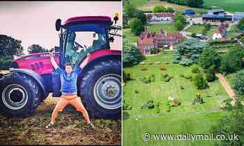 Jamie Oliver slams 'unimpressive' police after being forced to track down his own stolen tractor