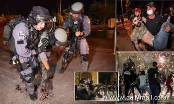 Clashes in Jerusalem see 178 Palestinians injured as Israeli police fire rubber bullets