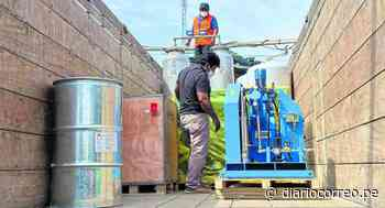 Hospital de Huarmey recibe planta de oxígeno - Diario Correo