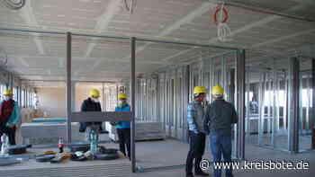 Im Zeitplan : Ausbau der Ausweichschule St. Martin in Marktoberdorf geht voran - Kreisbote