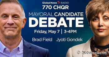 Gondek and Field face off in Calgary mayoral candidates debate over recovery, divisions