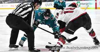Arizona Coyotes begin final road trip against San Jose Sharks - Five for Howling