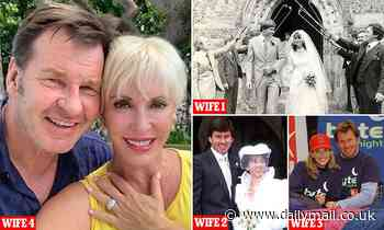 Sir Nick Faldo 'marries fourth wife, ex-topless dancer with six ex-husbands and a drug conviction'