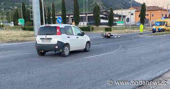 Scontro tra auto e scooter a Sala Consilina. Due giovani feriti - ondanews