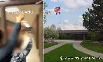 'Hitler Gang' TikTok sent directly to classmate showed students 'goose-stepping' in Iowa school
