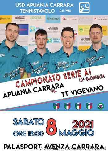 L'Apuania Carrara Tennistavolo torna in... campo sabato contro Vigevano - La Gazzetta di Massa e Carrara