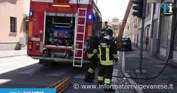 Vigevano: intervento dei vigili del fuoco in un appartamento di via San Giacomo - Informatore Vigevanese