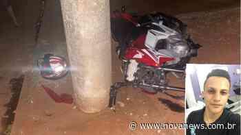 Jovem que sofreu acidente de moto em Ivinhema morre na cidade de - Nova News