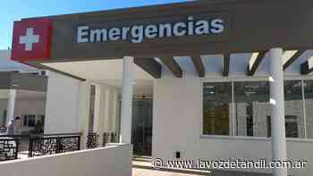 Joven herido tras choque en Brandsen y Godoy Cruz - La Voz de Tandil