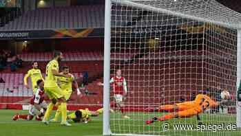 Europa-League-Halbfinale: Aubameyang scheitert zweimal am Pfosten – und Arsenal an Villarreal - DER SPIEGEL