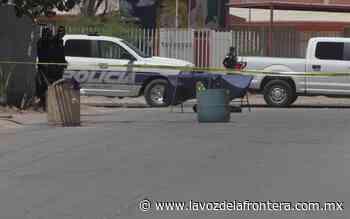 Asesinan hombre en El Roble - La Voz de la Frontera