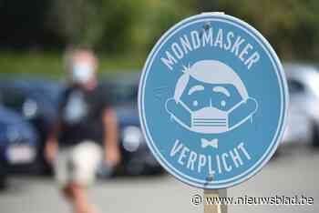 Mondmaskerplicht in Rijselstraat voor onbepaalde duur verlen... (Menen) - Het Nieuwsblad