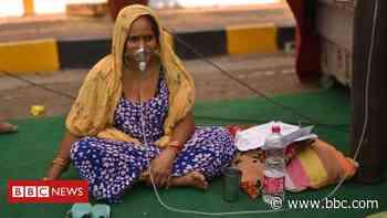 India coronavirus: New record deaths as virus engulfs India - BBC News