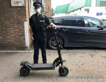 E-scooter crime on the rise across Essex, figures show