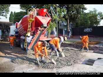 San Isidro: pavimento nuevo en Beccar - Zona Norte Visión