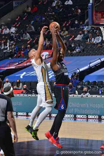 NBA: Philadelphia 76ers 109 x 107 New Orleans Pelicans - globoesporte.com