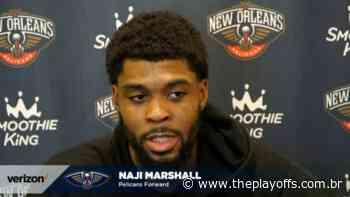 New Orleans Pelicans assina contrato de múltiplos anos com Naji Marshall - The Playoffs