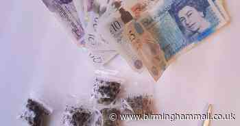 Teenage drug dealing suspects arrested in Sutton Coldfield with 'counterfeit cash & bladed weapon' - Birmingham Live