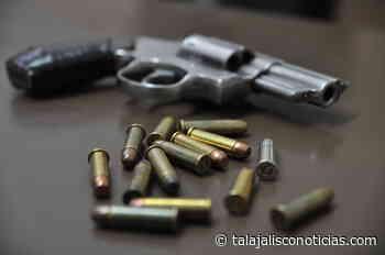 Aseguran un arma de fuego, cartuchos y droga en Ameca, Jalisco « REDTNJalisco - Tala Jalisco Noticias