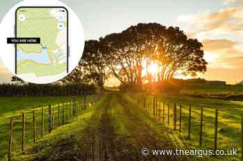 Sussex walks about to be upgraded with new app