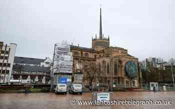 Drunk caused scene outside Blackburn Cathedral vaccine unit