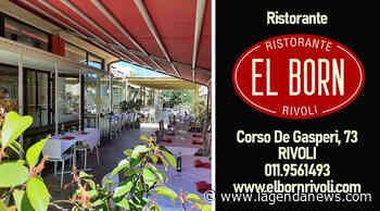 Da El Born, il ristorante di Rivoli, puoi mangiare nel dehor all'aperto sette giorni su sette - http://www.lagendanews.com