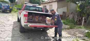 Itaberaba: 11º GBM entrega cestas básicas a pessoas em vulnerabilidade social - Jacobina Notícias