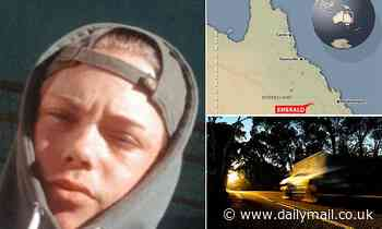 Teenagers spent hours trying to jump start 4WD - before the driver, 14, rolled it on a country road