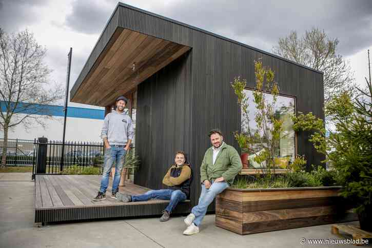 """Bartel Van Riet bouwt nu ook tiny houses: """"Lockdown deed vraag enorm toenemen"""""""