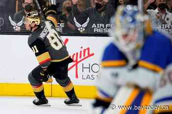Marchessault's OT goal lifts Golden Knights past Blues 4-3